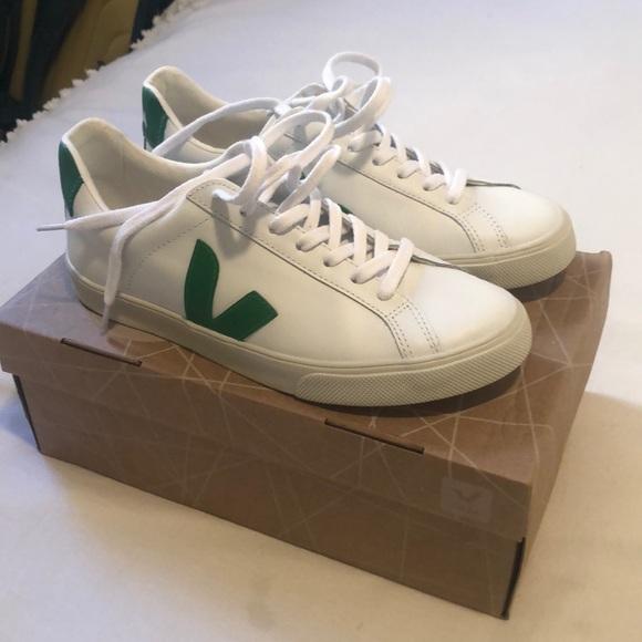 Veja Shoes | Veja Green Sneakers Esplar